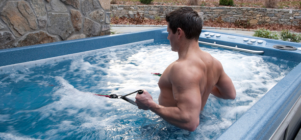 olympian hot tub fitness