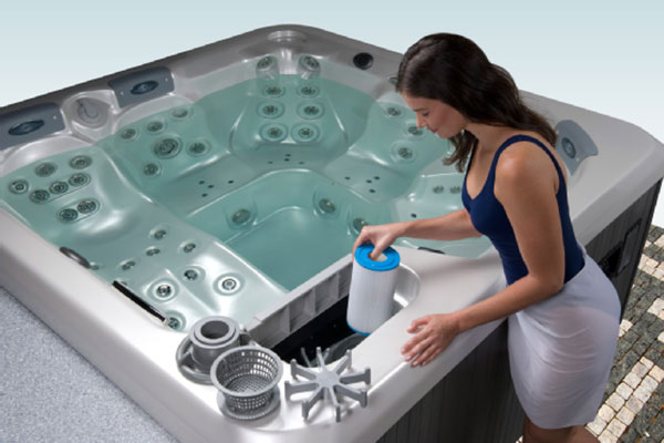 thermospas hot tub filtration system