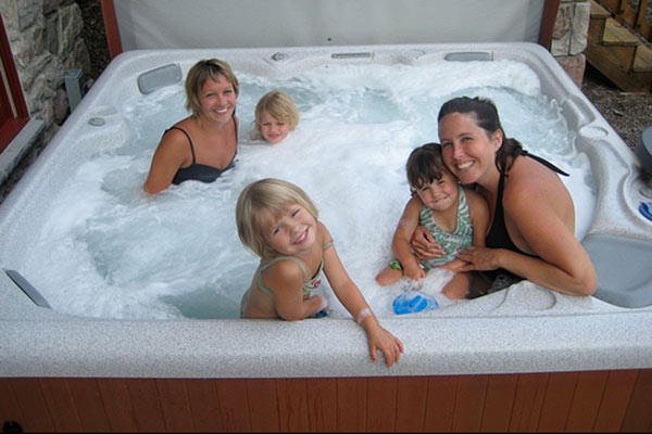 childproofing your hot tub