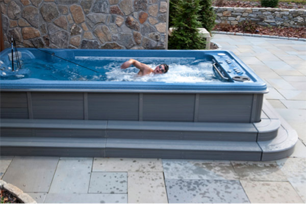 hot tub weight loss