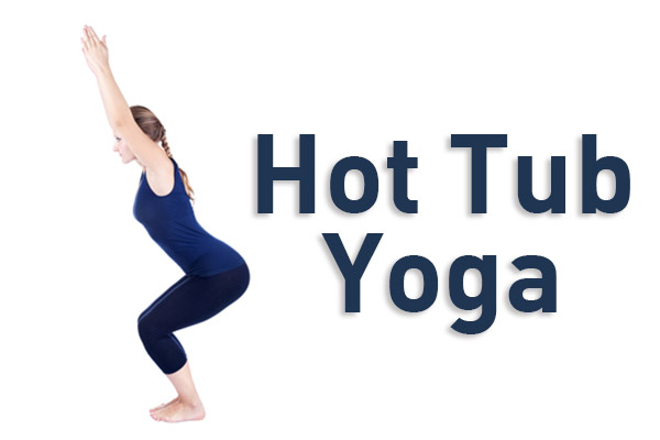 hot tub yoga