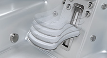 hot tub adjustable seat