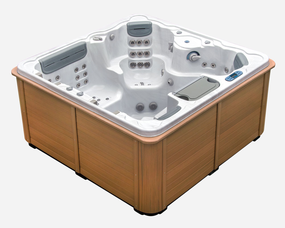 Concord ideal family 4 person hot tub thermospas hot tubs for Designer hot tubs