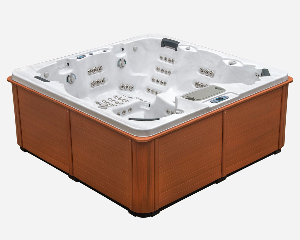 Manhattan 6 person luxury hot tub thermospas hot tubs for Designer hot tubs