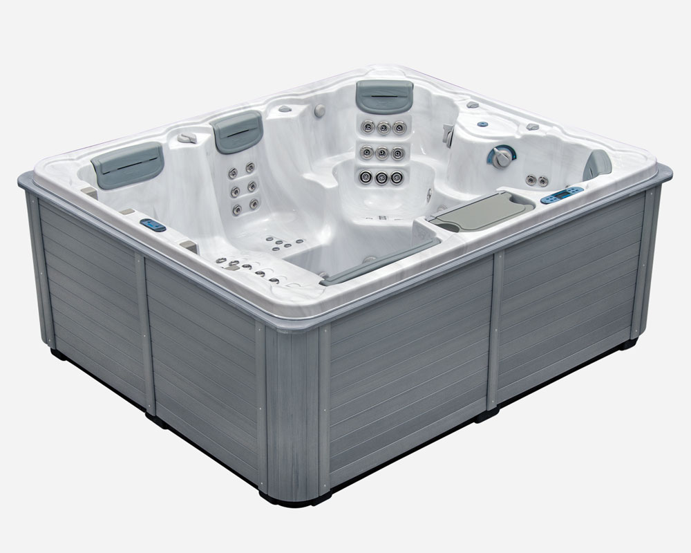Park avenue our most popular 5 person hot tub for Designer hot tubs