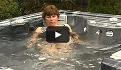 thermospas hot tubs treat knee surgery video