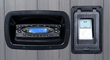 deluxe hot tub stereo