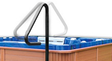 thermospas hot tub feature safety rail