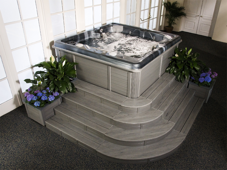 Gemini – Indoor or Outdoor 2 Person Hot Tub | ThermoSpas Hot Tubs